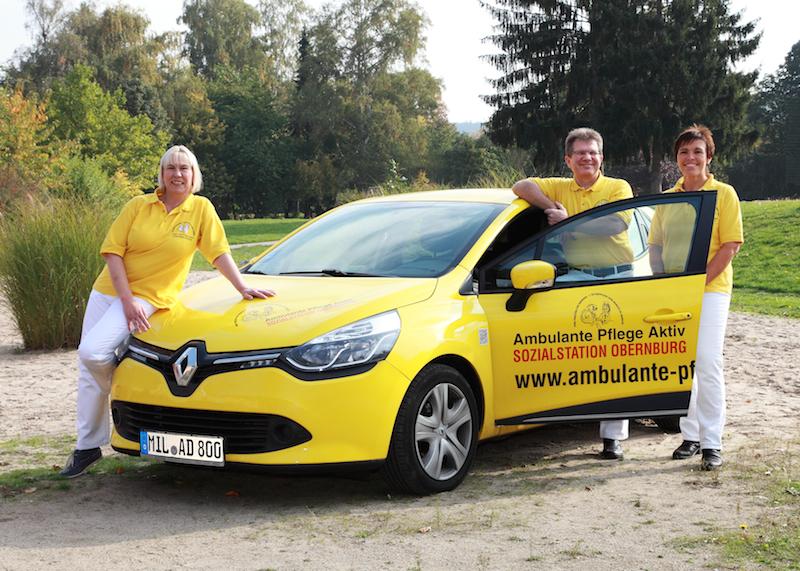 Wegbeschreibung über Google Maps zu Ambulante Pflege Aktiv - Sozialstation Obernburg